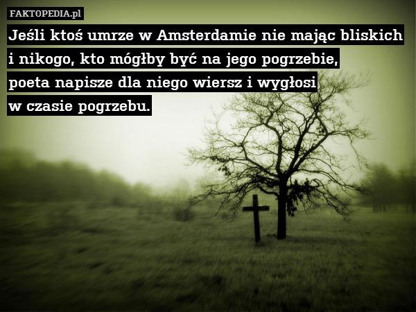 Jeśli Ktoś Umrze W Amsterdamie