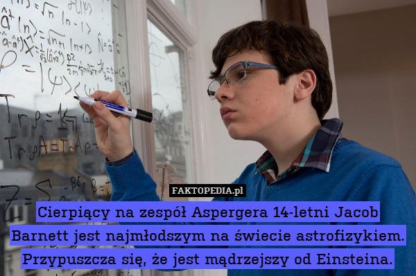 Zespół Aspergera Image: Cierpiący Na Zespół Aspergera