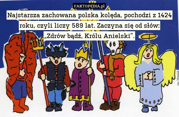 Najstarsza zachowana polska kolęda,
