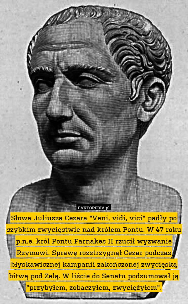 Juliusza Cezara Słowa Juliusza Cezara Veni