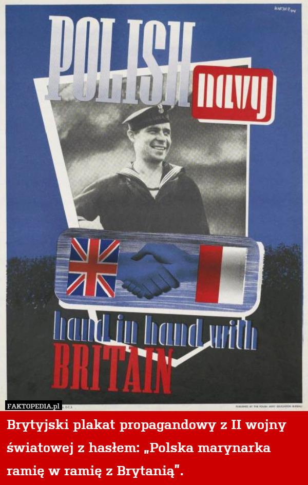 Brytyjski Plakat Propagandowy Z Ii Wojny światowej Z Hasłem