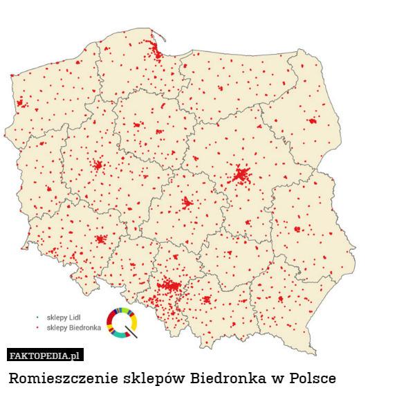 Romieszczenie Sklep W Biedronka W Polsce
