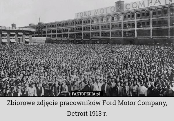 Zbiorowe zdj cie pracownik w ford motor company detroit for Ford motor company news headlines
