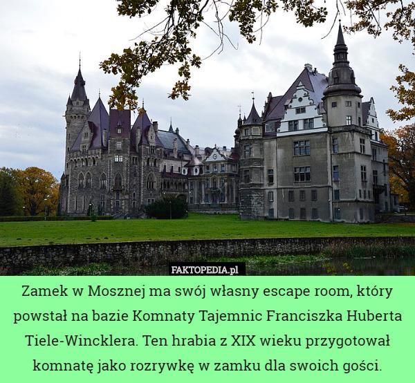 Escape Room W Mosznej