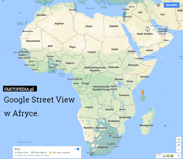 Google Street View  w Afryce. – Google Street View  w Afryce.
