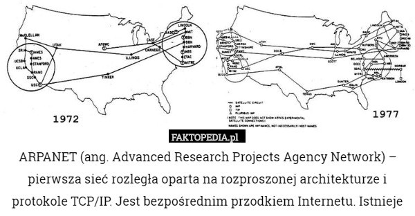 advanced research projects agency network arpanet